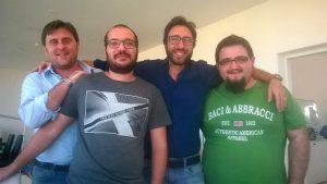 Ignazio Aragona e la squadra Edigma