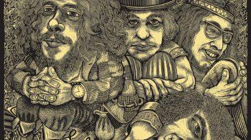 Jethro Tull, la copertina di Stand Up (dal sito ufficiale)