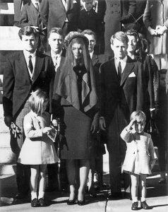 I funerali di John Kennedy (da NBCnews)