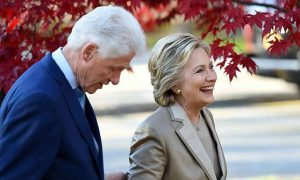 Bill e Hillary Clinton, la sconfitta