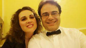 Daniele Petralia e Alexandra Oikomonou