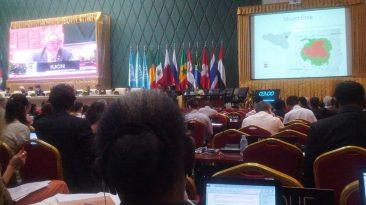 21 giugno 2013, Pnohm Penh: l'Etna proclamato Patrimonio Mondiale UNESCO
