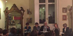 """La presentazione del libro """"L'Universo di Gaia"""" nei giorn scorsi a Palermo"""