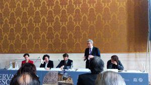 L'intervento di Franco Bernabè, presidente della Commissione Nazionale Unesco