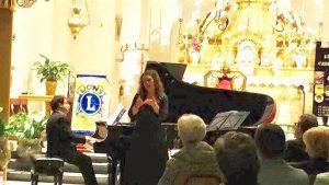 Alcuni momenti del concerto di celebrazione del 215°di Bellini