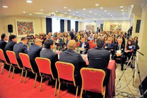 Un momento dell'incontro di Catania per la presentazione del Piano