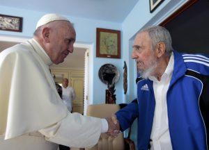 Papa Francesco e Fidel