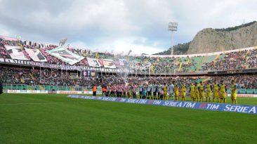 Un'immagine di Palermo-Chievo ieri (dal sito ufficiale Us. Città di Palermo)