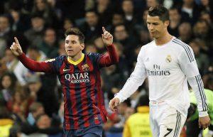 Leo Messi e Cristiano Ronaldo (fonte Pinstake)