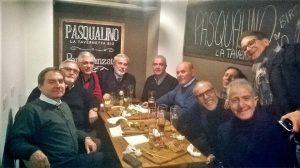 A Palermo, con gli ex compagni di scuola del Liceo Umberto