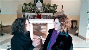 Sara La Rosa con Oriana Civile