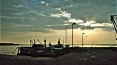 Notte di pesca a mare