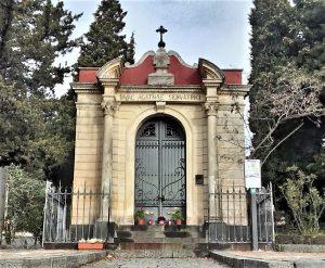 L'altarino di Sant'Agata, poco fuori l'abitato di Nicolosi