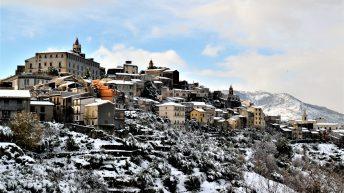 Castiglione sotto la neve