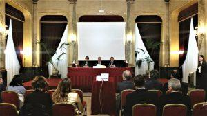L'apertura dei lavori a Palermo