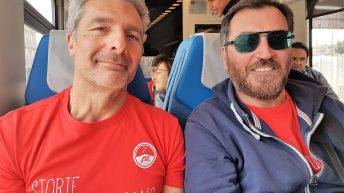 Sergio e Riccardo La Spina, un sorriso che la dice tutta ...