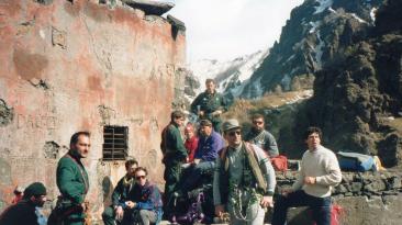 1992 - Operazioni di deviazione della colata- Insieme con CFRS, SAGF ed Arditi Incursori - Turi Carbonaro - Aldo Saetta - Mimmo Granat