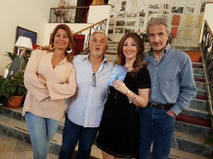 Al Rouge et Noir, con Sergio Mangiameli, Antonella De Francesco e Tiziana Caccamo