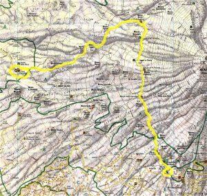 Il percorso di Etna Endurance Unesco 2017