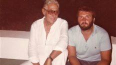 CON RENZO BARBERA AGOSTO 1981 A PANTELLERIA