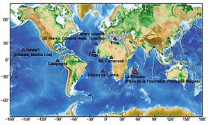 Cartina Vulcani Nel Mondo.Cartina Vulcani Il Vulcanico