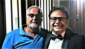 Con Daniele Petralia 9 agosto 2017