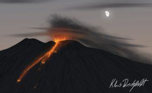 Etna 1999 bocca nuova