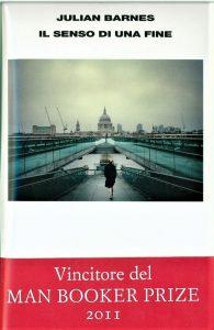 """La copertina del libro """"Il senso di una fine"""", da cui è tratto il film (dal web)"""