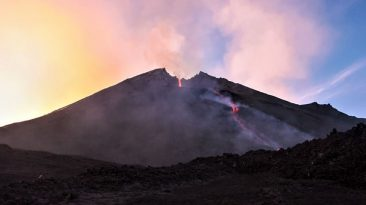 Eruzione Etna settembre 2006, Simone Genovese