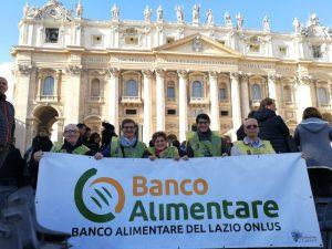 Delegazione Banco Alimentare all'udienza del Santo Padre