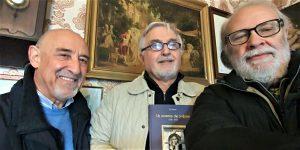 Con Luciano e Vito Sapienza