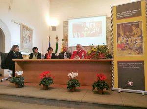 Un momento della presentazione del libro al Parco dell'Etna