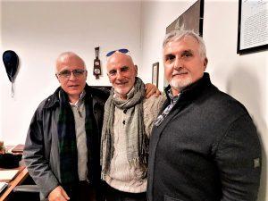 """Al """"bunkerino"""", con Giuseppe Fici e Giovanni Paparcuri"""
