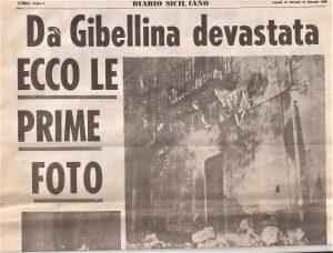 L'ORA Gibellina 15 gennaio 1968