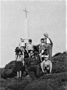 1954, monumentino Cagni (foto dal web)
