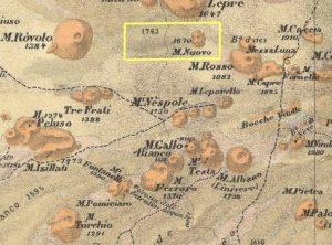 Dalla Carta volcanologica e topografica dell'Etna (1892 Chaix Emile)