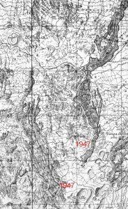 I flussi lavici (Istituto Geografico Militare)