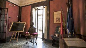 QUADRO DI SCIUTI A CASA MUSEO VERGA