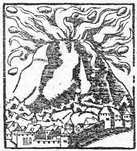 L'Etna nell'edizione del 1598 (collezione personale)