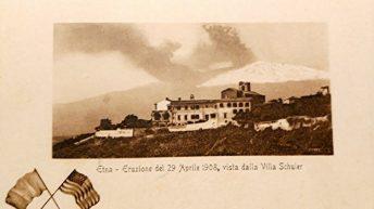 L'eruzione vista da Taormina (collezione personale)