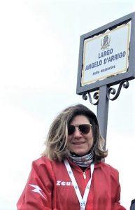 Laura Mancuso, moglie di Angelo e presidente della Fondazione D'Arrigo