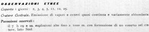 OSSERVAZIONI ETNEE 7 aprile 1964