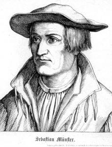 Ritratto di Münster da giovane (Bibliothèque nationale et universitaire de Strasbourg)