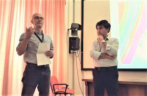 Stefano Branca e Salvo Caffo durante la presentazione