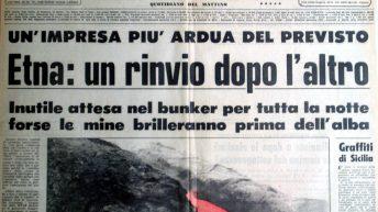 La Sicilia, prima pagina del 14 maggio 1983 (collezione personale)