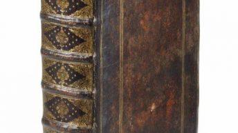Una copia della prima edizione del 1665