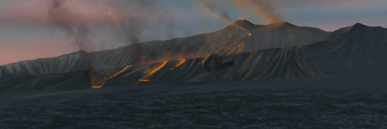 Etna da monte Fontane
