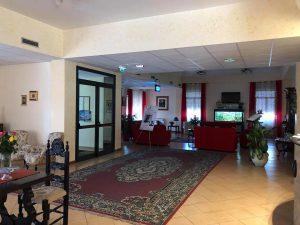 La Casa degli Esercizi Passionisti di Mascalucia, che ospiterà le lezioni e i concerti