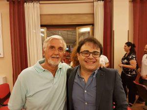 Doverosa foto ricordo con il Maestro Daniele Petralia alla conferenza stampa di presentazione
