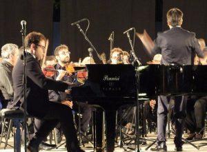 Il Maestro Daniele Petralia al piano